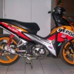 Modifikasi Honda Blade 125 FI Racing