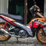 Modifikasi Honda Blade 125 FI Road Race