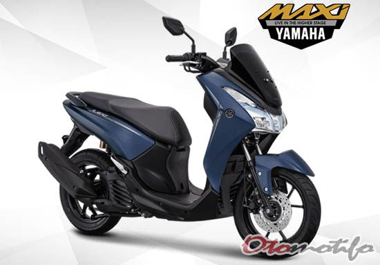Yamaha Lexi S Matte Blue
