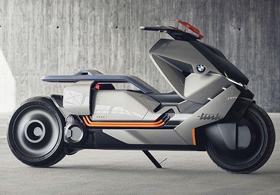 Motor Masa Depan BMW Concept Link scooter