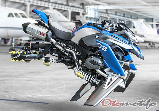 BMW R1000 GS Hover Bike Concept