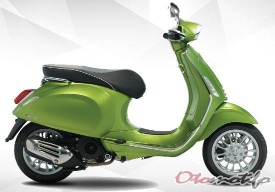 Desain Vespa Sprint 150