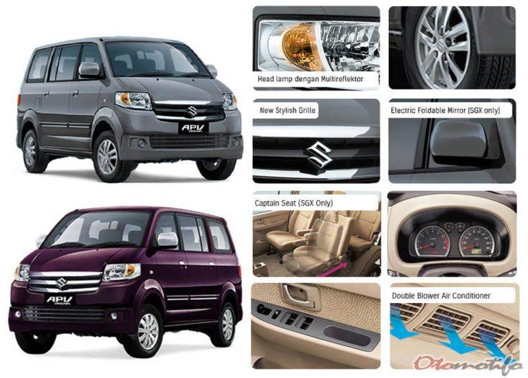 Interior Suzuki Apv Luxury 2019
