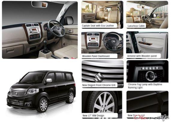 Fitur Suzuki APV Luxury