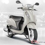 Gambar Suzuki Access 125 Putih