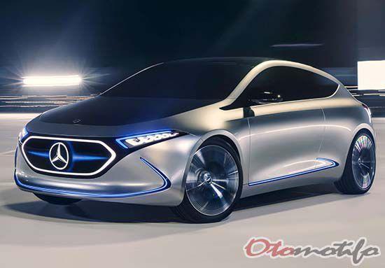 Mobil Masa Depan Mercedes-Benz Concept EQA