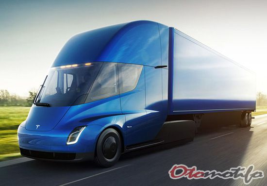 Mobil Masa Depan Tesla Semi