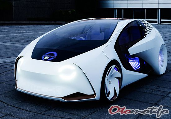 Mobil Masa Depan Toyota Concept-i
