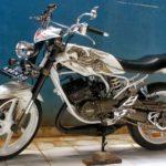 Modif Yamaha RX King Airbrush