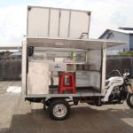 Modifikasi Motor Roda Tiga Viar Food Truck
