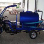 Modifikasi Motor Roda Tiga Viar Penyulingan Air