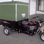 Modifikasi Motor Roda Tiga Viar Semi Box