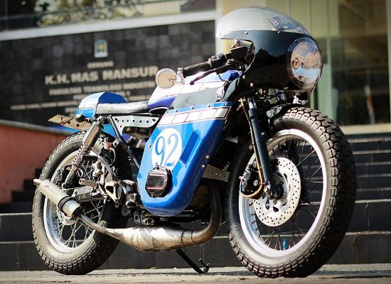 Motor Balap Yamaha RX King