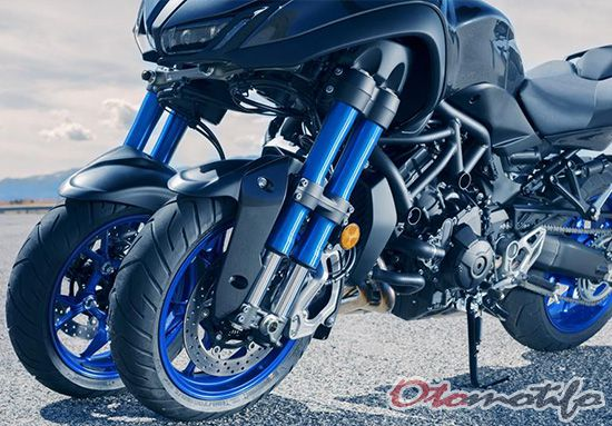 Rangka Yamaha Niken