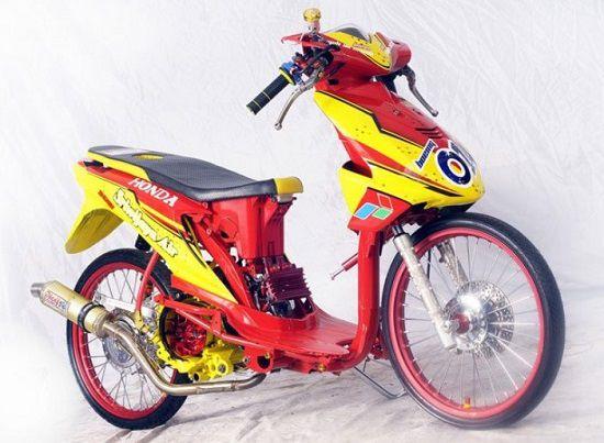Foto Motor Drag Honda Beat