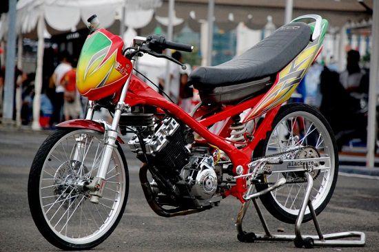 Foto Motor Drag Satria FU