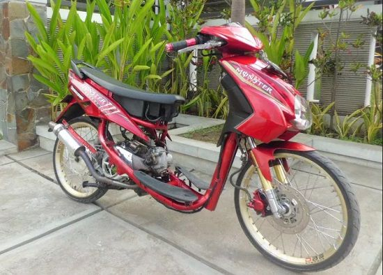 Gambar Motor Drag Mio