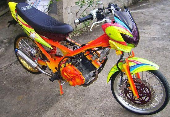 1000 Modifikasi Motor Drag 2019 Paling Keren Otomotifo