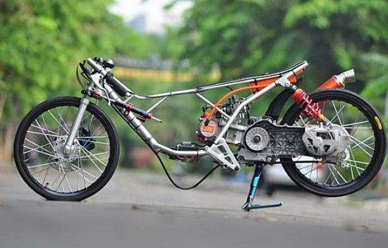Gambar Motor Drag Thailand