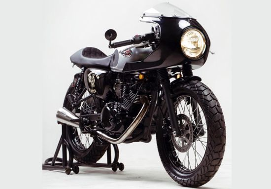 Modifikasi Kawasaki W175 Cafe Racer