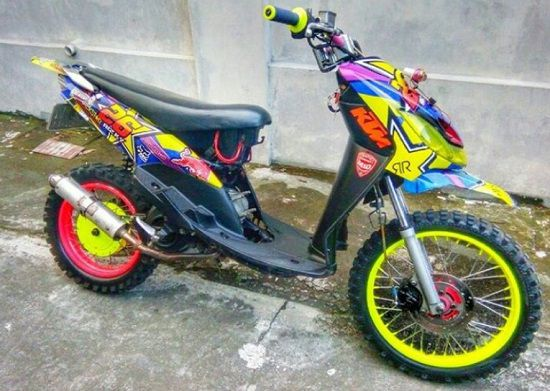 Modifikasi Mio Trail