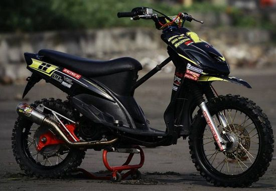 Modifikasi Yamaha Mio Trail
