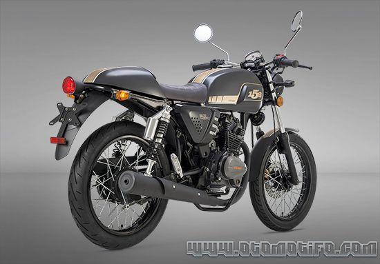 Desain Benelli Motobi 152