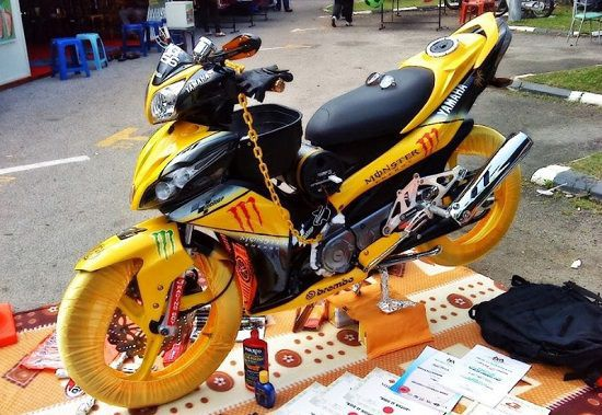 Foto Modifikasi Jupiter Z Racing
