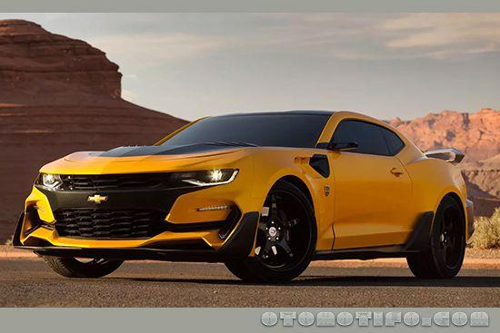 Gambar Chevrolet Camaro Convertible Transformers