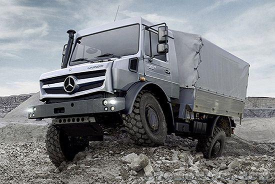 Gambar Mercedes-Benz Unimog Transformers