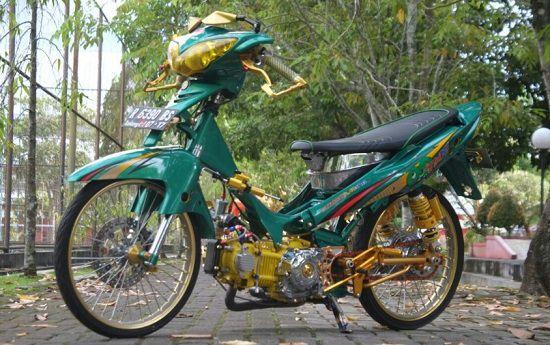 Gambar Modifikasi Yamaha Jupiter Z Jari Jari