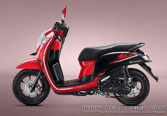 Harga Motor Matic Honda Scoopy