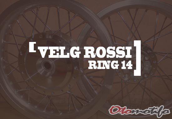 Harga Velg Rossi Ring 14