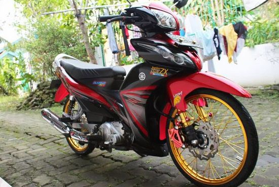 Modifikasi Jupiter Z Jari Jari
