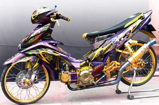 Modifikasi Jupiter Z Kontes