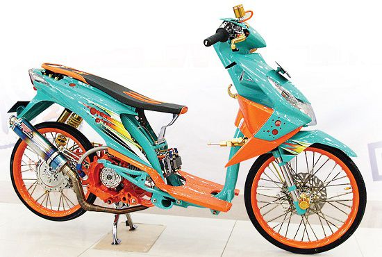Modifikasi Motor Matic Drag