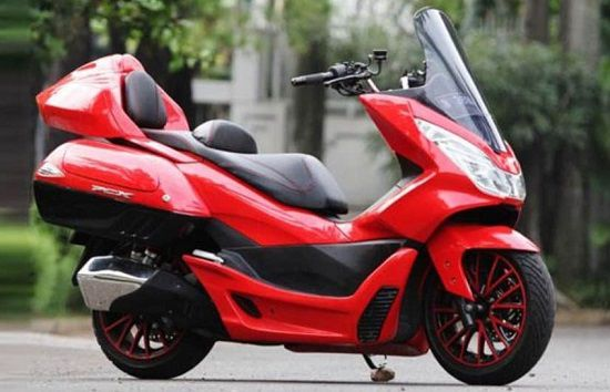 Modifikasi Motor Matic PCX