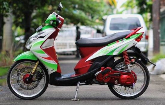 Modifikasi Motor Matic Simple
