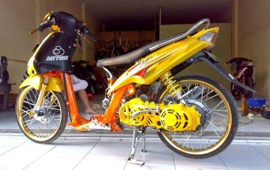 Modifikasi Motor Yamaha Mio