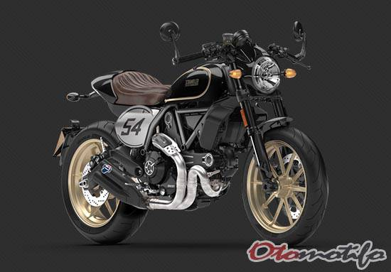 Motor Cafe Racer Ducati Scrambler