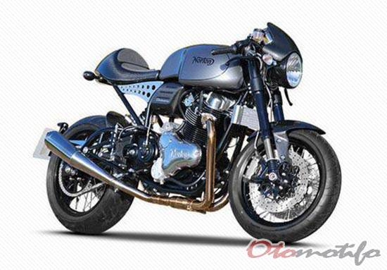 Motor Cafe Racer Norton Dominator