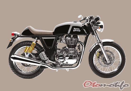 Motor Cafe Racer Royal Enfield Continental GT