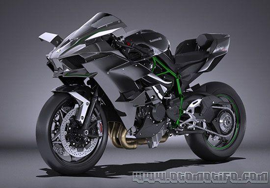 Motor Kawasaki Ninja H2R