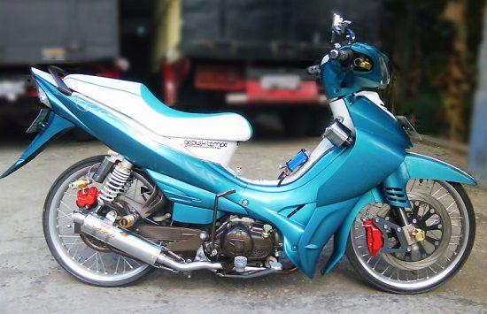 Yamaha Jupiter Z Modif Ceper