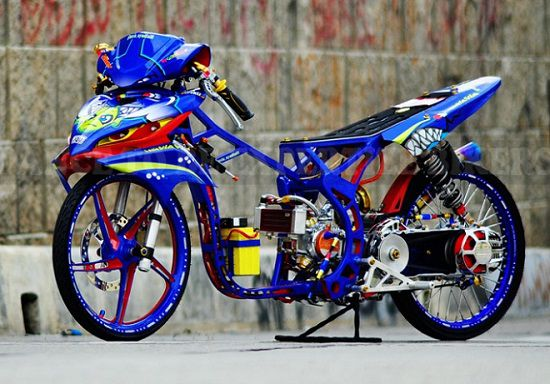 Foto Motor Drag Indonesia