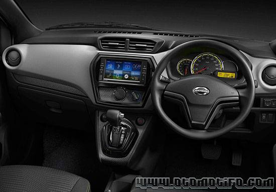 Gambar Interior Datsun Go Live