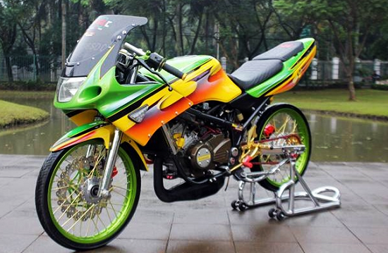 Gambar Ninja RR Air Brush