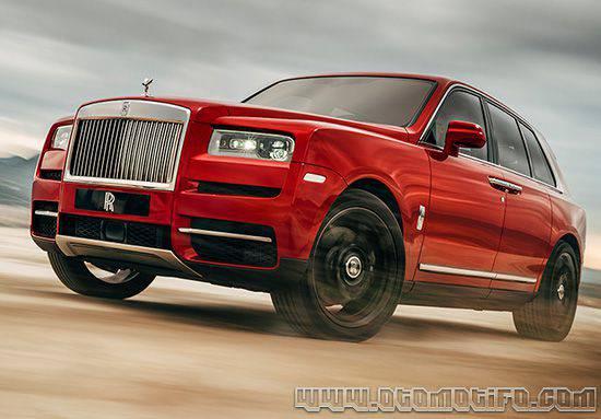 Harga Mobil Rolls Royce Cullinan