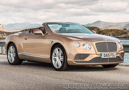 Harga Mobl Bentley Continental GT Convertible