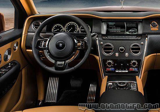 Interior Rolls Royce Cullinan